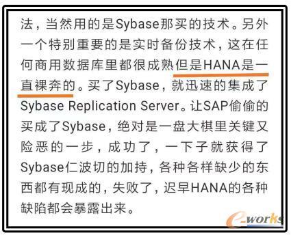 SAP HANA神话(3):心黑胆肥的SAP