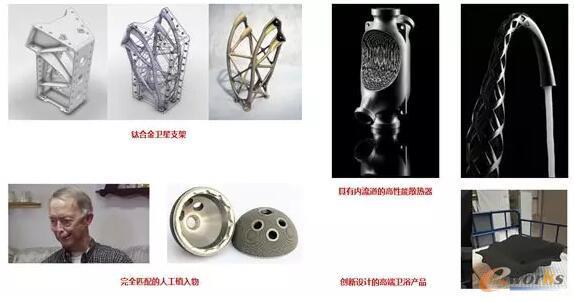 增材制造突破传统产品设计的限制