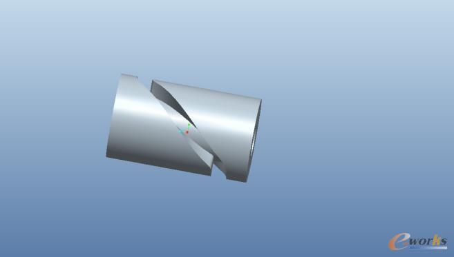圆柱凸轮三维模型