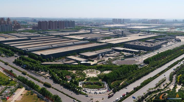 图1 宇通新能源厂区俯瞰全景