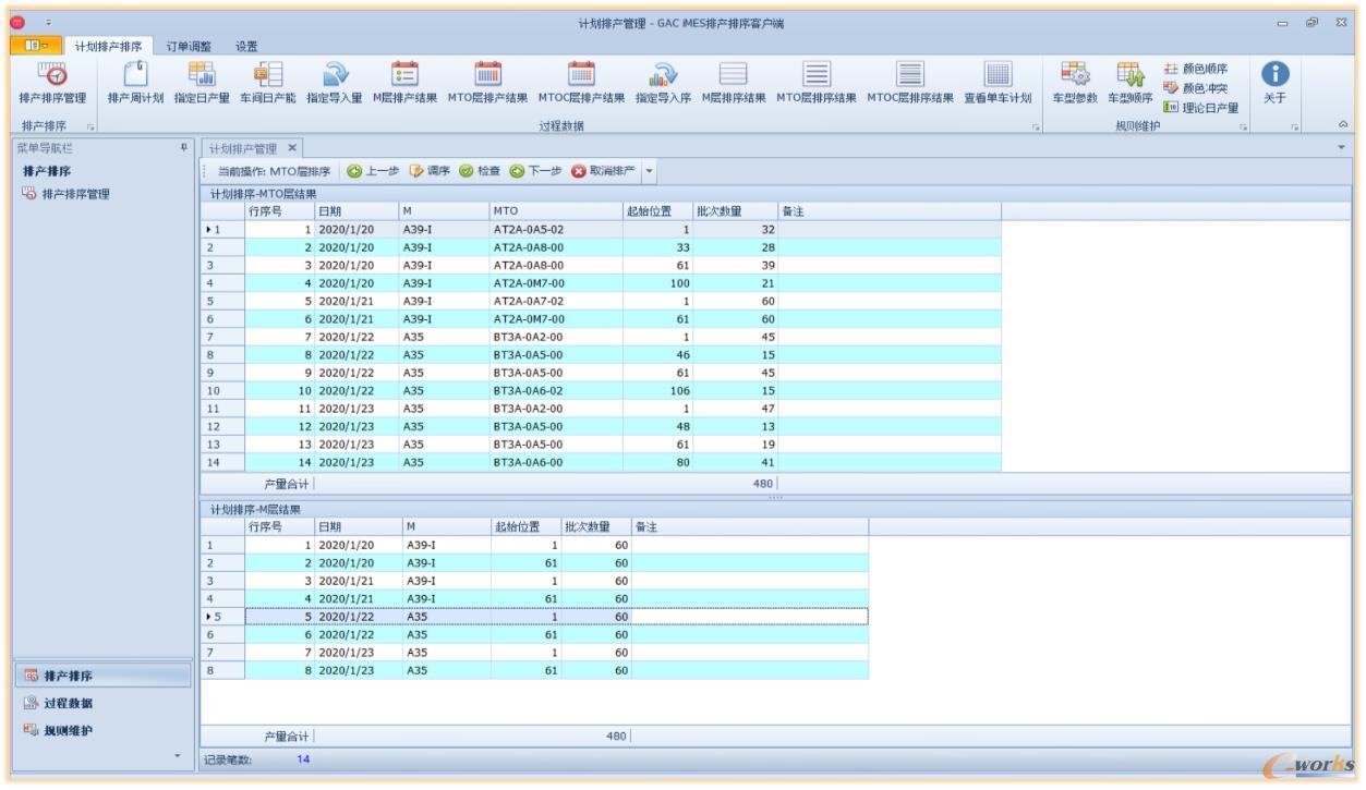 自动化排产排序