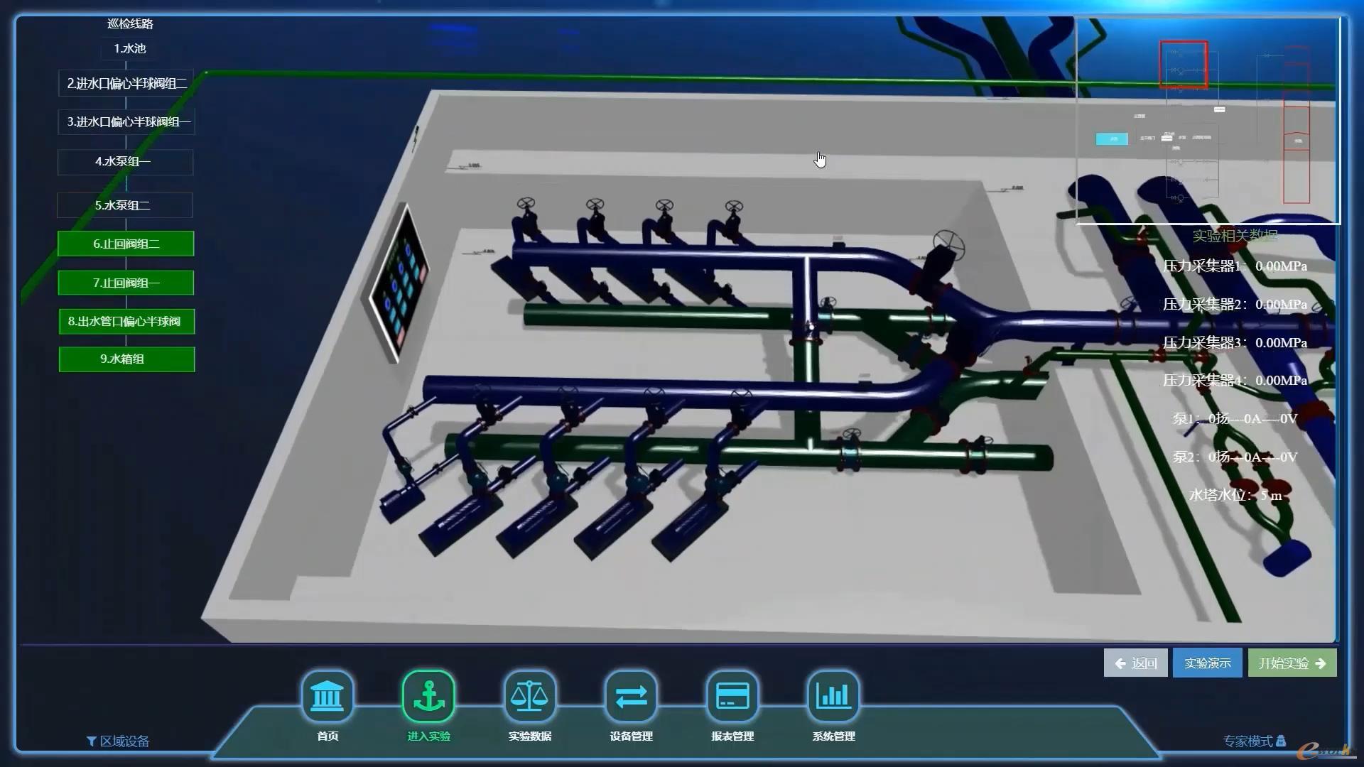 水力实验室监控平台
