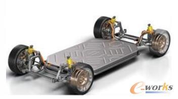 搭载轮毂电机的车辆