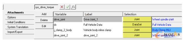 添加转动副drive_joint_1和drive_joint_2
