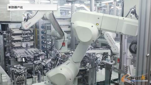 断路器车间协作机器人