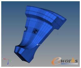 辐板外侧节点安全系数最小节点(597333)位置