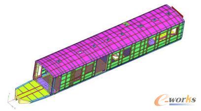 车体钢结构